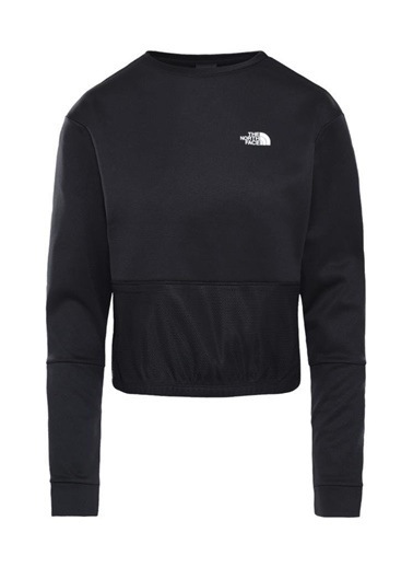 The North Face Train Pullover Kadın Sweatshirt Siyah Siyah